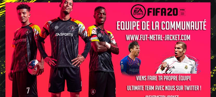 FIFA20 – EQUIPE DE LACOMMUNAUTE