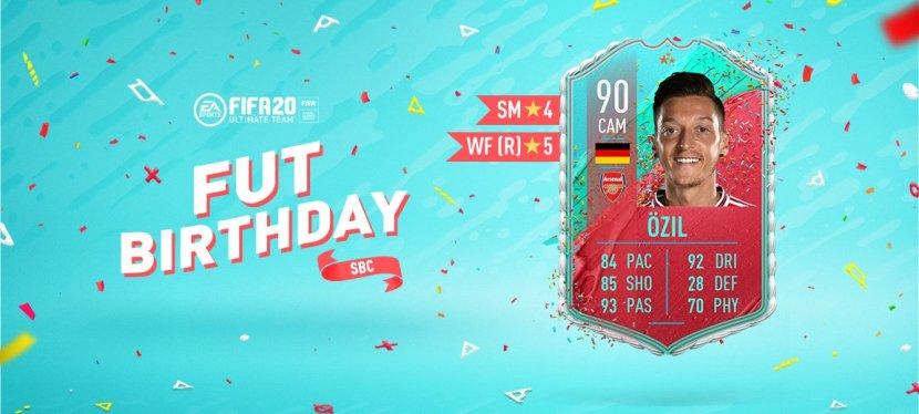 FIFA20 – SOLUTION SBC ÖZILFUTBIRTHDAY