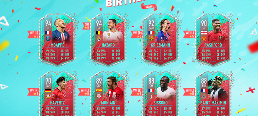 FIFA20 – FUT BIRTHDAY 1