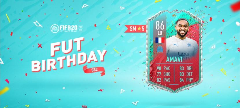 FIFA 20 – JORDAN AMAVIFUTBIRTHDAY