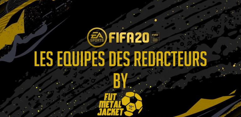 FIFA20 – EQUIPES ET TACTIQUES DES REDACTEURS –JOUELESCAKES