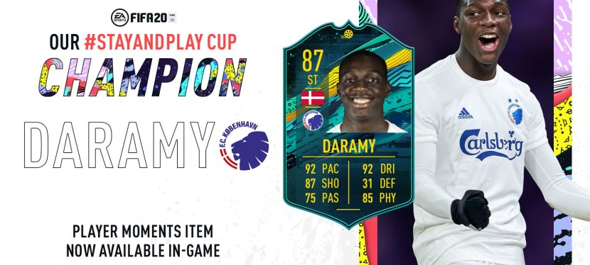 FIFA20 – SOLUTION SBC DARAMY MOMENTS