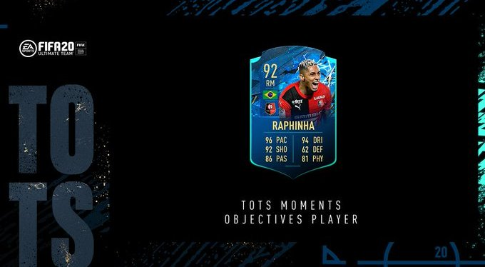 FIFA 20 – SOLUTION OBJECTIF RAPHINHA MOMENT