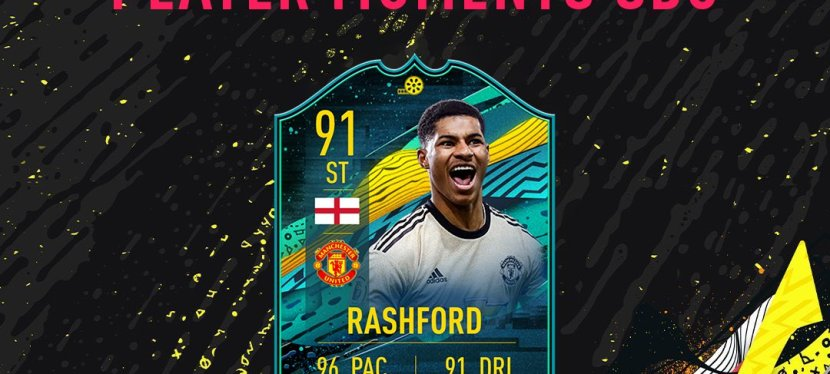 FIFA20 – SOLUTION SBC RASHFORD MOMENTS