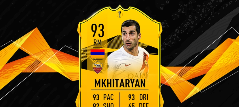 FIFA20 – SOLUTION SBC MKHITARYAN ROAD TO THE FINAL