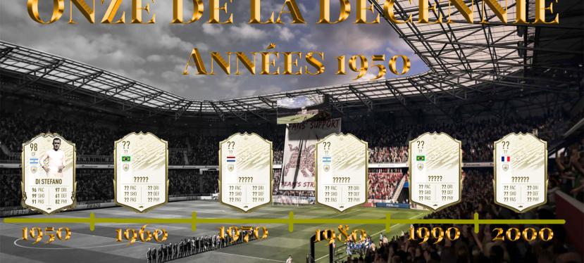 FIFA – Onze de la décennie : Années1950
