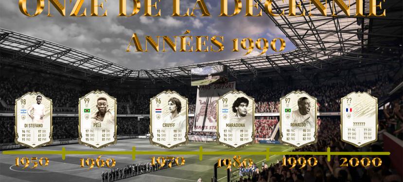 FIFA – Onze de la décennie : Années1990