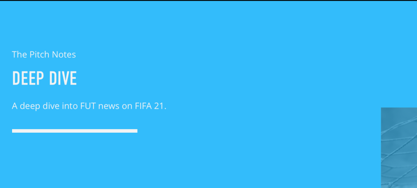 PITCH NOTES – NOUVEAUTES SUR FIFA21!