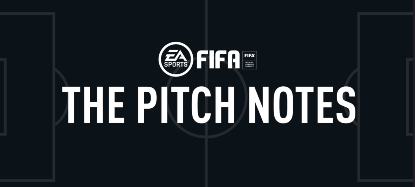 FIFA 21 – PITCH NOTES DU 25/09/2020 EN FRANCAIS